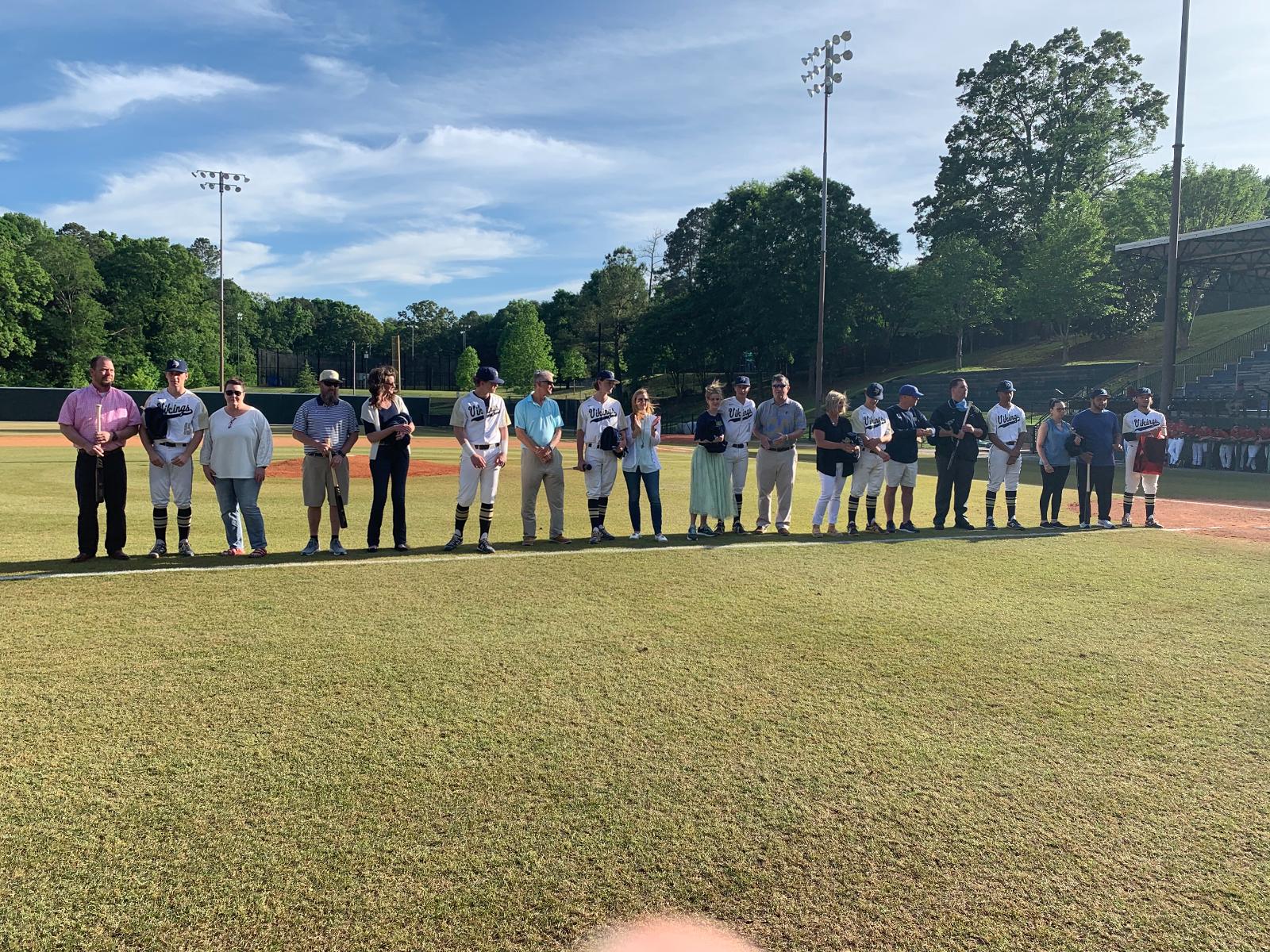 2021 SHS Baseball Senior Recognition