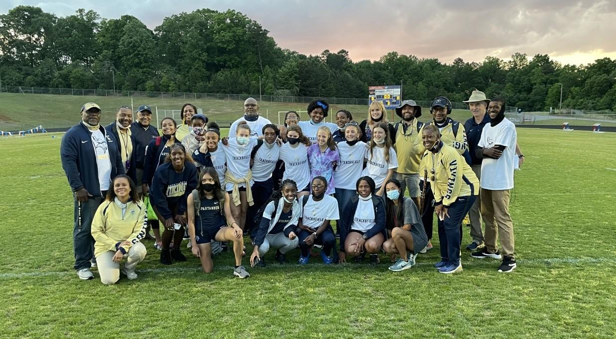 2021 SHS Girls Track – Region Champions