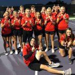 Elk Tennis enter playoffs with 6 straight wins