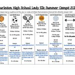 Lady Elk Summer Camps 2019