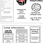 Volleyball Summer Camp 2019