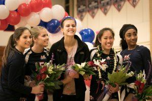 Girls Volleyball Senior Night 2015