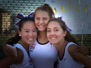 Girls Senior Tennis Day