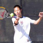 Maranatha High School Boys Varsity Tennis beat Cathedral High School 15-3