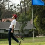 Maranatha High School Boys Varsity Golf beat Village Christian High School 235-244