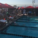 Maranatha High School Girls Varsity Swimming & Dive ties Covina High School 83.5-83.5