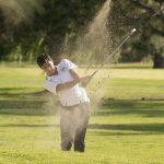 Maranatha High School Boys Varsity Golf falls to Whittier Christian High School 199-208