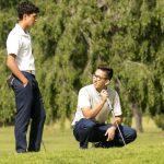 Maranatha High School Boys Varsity Golf beat Valley Christian High School 221-249
