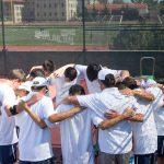 Maranatha High School Boys Varsity Tennis beat Whittier Christian High School 13-5