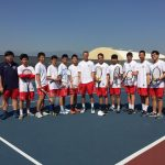 Maranatha High School Boys Varsity Tennis beat Valley Christian High School 12-6