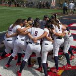 Maranatha High School Varsity Softball beat Village Christian High School 11-1