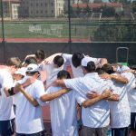 Maranatha High School Boys Varsity Tennis beat Whittier Christian High School 17-1