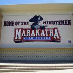 Maranatha High School Girls Varsity Soccer beat Garden Grove High School 1-0