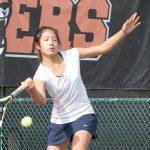 Maranatha High School Girls Varsity Tennis beat Fairmont Preparatory Academy 10-8