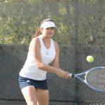 Maranatha High School Girls Varsity Tennis beat Whittier Christian High School 10-8