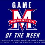 Game of the week for 10/24-10/29