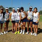 Maranatha High School Girls Varsity Tennis finishes 1st place
