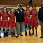 Maranatha High School Girls Varsity Basketball falls to Burbank – San Marino Tournament 52-43