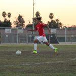 Maranatha High School Boys Varsity Soccer ties Mark Keppel High School 1-1