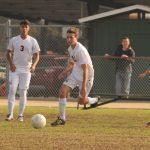 Maranatha High School Boys Varsity Soccer falls to Temple City High School 1-0
