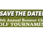 Booster Golf Tournament – SAVE THE DATE