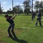 Maranatha High School Boys Varsity Golf beat Flintridge Prep School 222-230