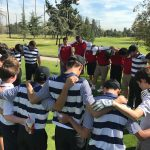 Maranatha High School Boys Varsity Golf beat Whittier Christian High School 210-280
