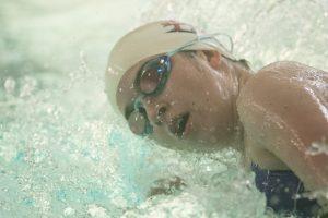 Swim vs La Salle