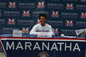 Eddie Lopez Baseball Signing Day