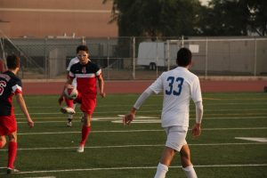 Varsity Boys Soccer vs Burbank High School