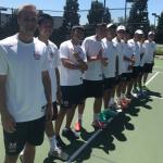 Maranatha High School Boys Varsity Tennis falls to Los Osos High School 11-7