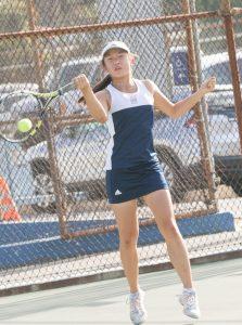 Girls Tennis vs Mayfield