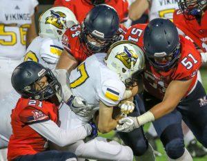 Varsity Football vs. Campbell Hall – September 15, 2017
