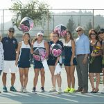 Maranatha High School Girls Varsity Tennis beat Heritage Christian 17-1