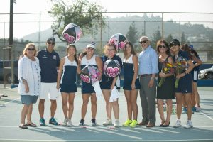 Girls Tennis – Senior Day 2017
