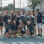 Maranatha High School Girls Varsity Tennis finishes 1st place