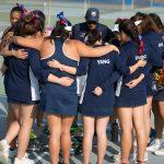 Maranatha High School Girls Varsity Tennis beat Montebello High School 10-8