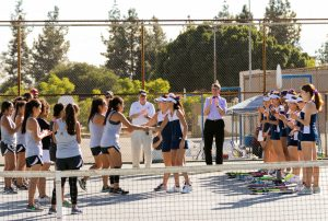 Girls Tennis –  CIF Semifinals