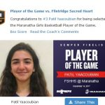 Girls Varsity Basketball beats Flintridge Sacred Heart 67 – 39