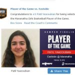 Girls Varsity Basketball beats Eastside 63 – 40
