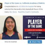 Girls Varsity Basketball beats California Academy Math/Scienc 64 – 45