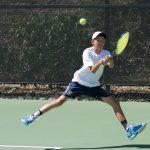 Boys Varsity Tennis falls to Poly/Pasadena 14 – 4