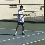 Boys Varsity Tennis beats Whittier Christian 17 – 1