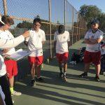 Boys Varsity Tennis beats Valley Christian/Cerritos 14 – 4