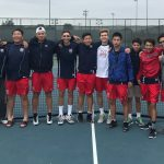 Boys Varsity Tennis finishes 1st place at League prelims