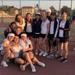 Girls Varsity Tennis beats Whittier Christian 17 – 1