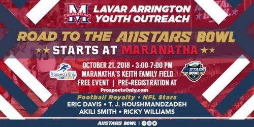 LaVar Arrington Youth Outreach- Free Football Camp