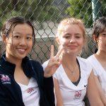 Girls Varsity Tennis beats Heritage Christian 16 – 2