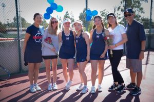 Girls Tennis – Senior Day 2018