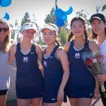 Girls Varsity Tennis beats Whittier Christian 14 – 4